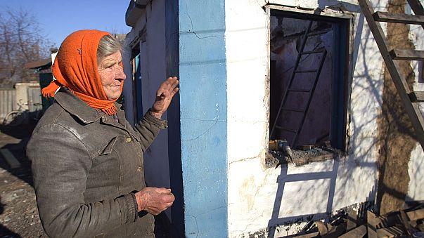 Na linha da frente do conflito ucraniano o maior inimigo é o frio