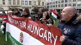 """Венгерские националисты протестуют против """"диктата"""" ЕС"""