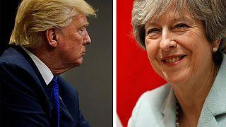 """Trump és May """"adok-kapok""""-ja a Twitteren"""