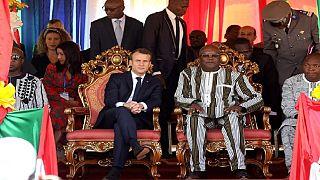 """Macron juge """"ridicule"""" la polémique concernant sa plaisanterie sur Kaboré"""