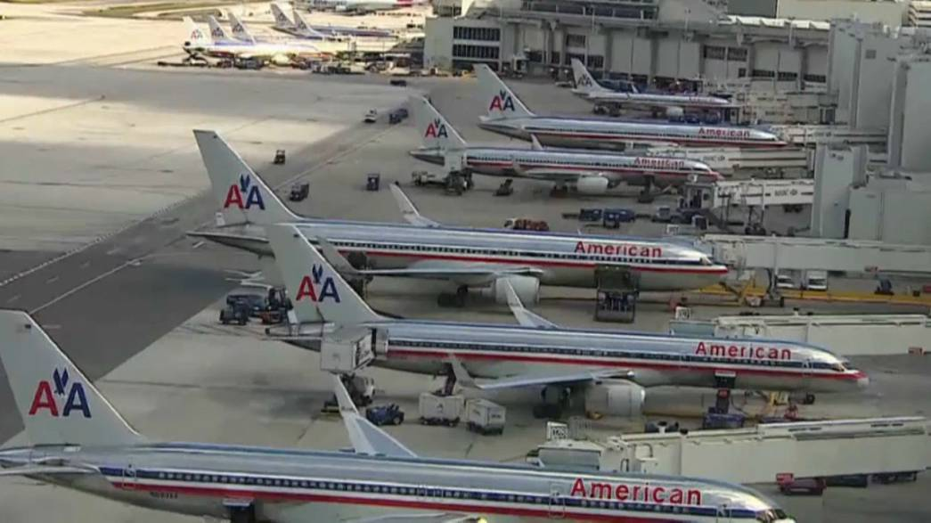American Airlines - пилотам: все в отпуск!
