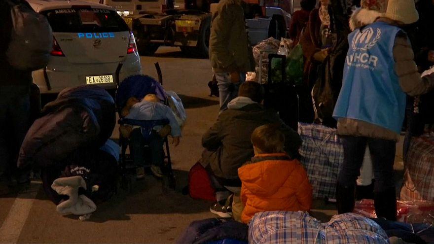 Grecia: Lesbo al collasso, trasferiti 300 richiedenti asilo