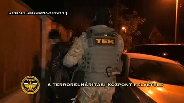 Összehangolt rendőri akció Budapesten