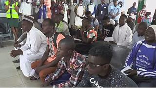 Cameroonian migrants return from Libya, as EU, and AU agree on emergency plan