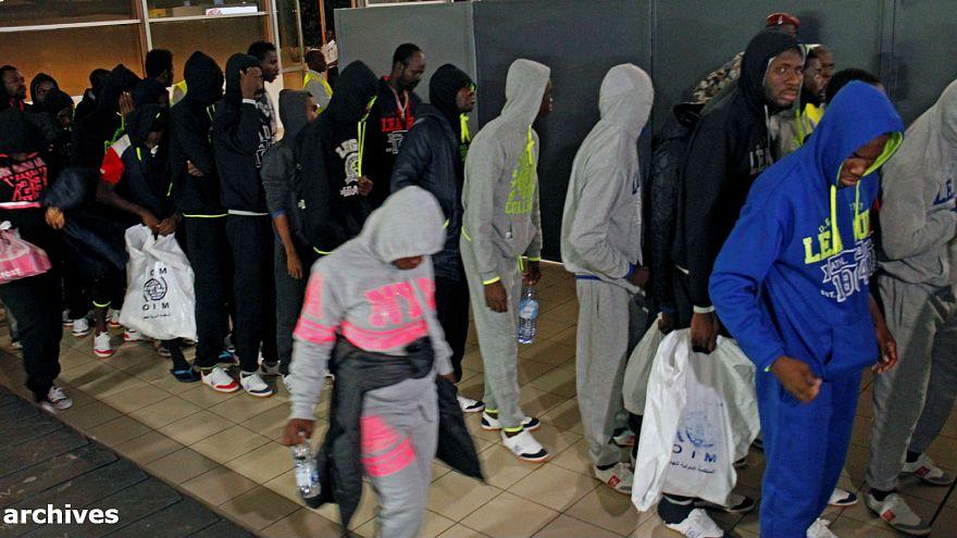 Operación para evacuar a los migrantes atrapados en Libia