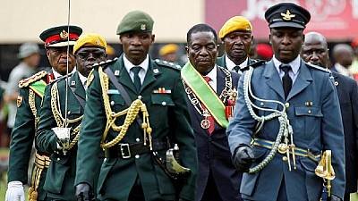 Soldier who announced Mugabe ouster is new Zimbabwe foreign minister