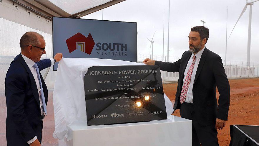 Beindult az ausztrál giga-akkumulátor