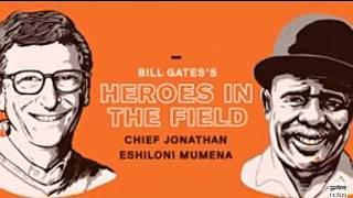 Bill Gates celebrates Zambian tribal chief for his role in AIDS combat