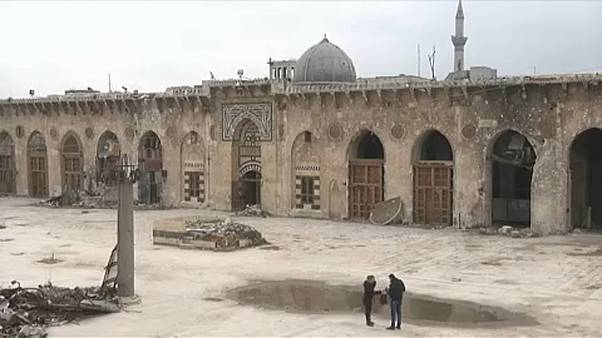 Συρία: Ανακατασκευάζεται το Μεγάλο Τζαμί στο Χαλέπι