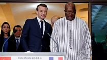 Macron on Africa tour says G5 Sahel force implementation is too slow [no comment]