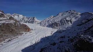 Rekordsebességgel mozog a gleccser