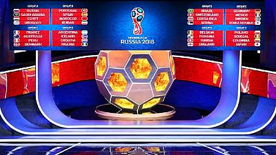 Russia 2018 World Cup draw: Morocco, Nigeria, Tunisia in 'tough' groups