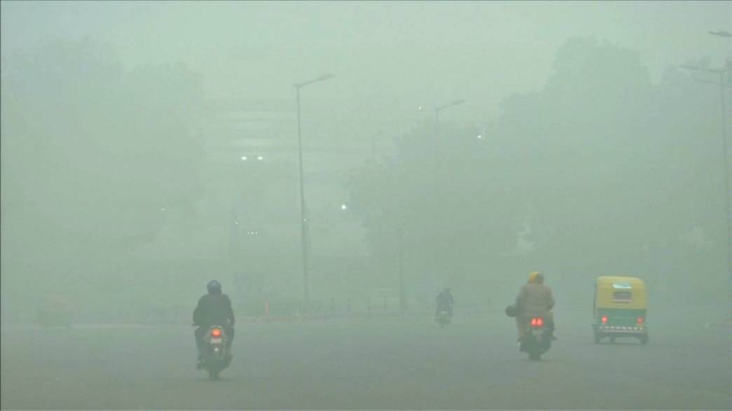 Images show extent of global air pollution