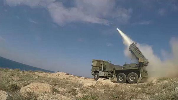 Izrael szíriai katonai célpontokra lőtt ki rakétákat