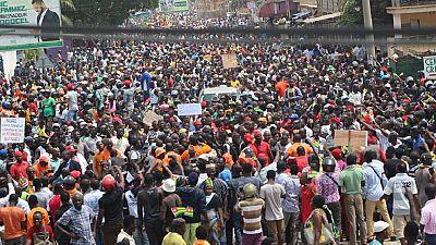 Togo : 3e jour de manifestation cette semaine dans les rues de Lomé