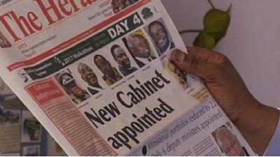 Zimbabwe-gouvernement : Emmerson Mnangagwa a-t-il cédé à la critique ?