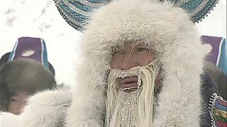 Celebrar a chegada do inverno com -56º