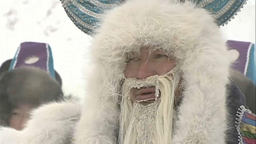 A tél beálltát ünnepelték Jakutföldön
