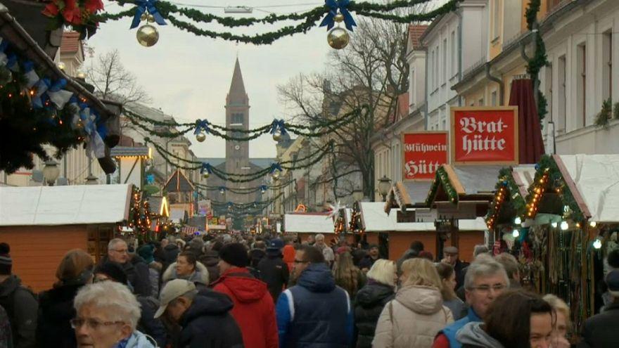 Reabre el mercado navideño de Potsdam