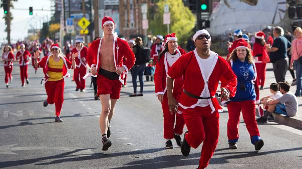 Great Santa run returns to Vegas