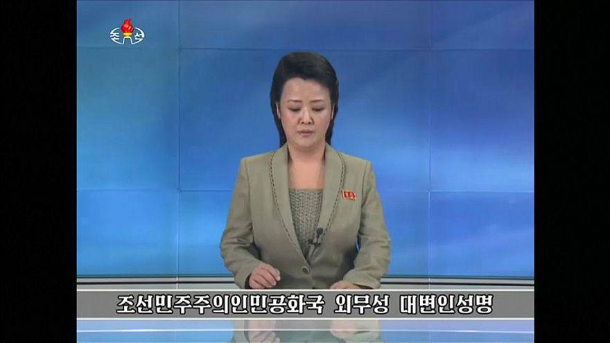 Pionyang arremete contra las maniobras militares de Washington y Seúl