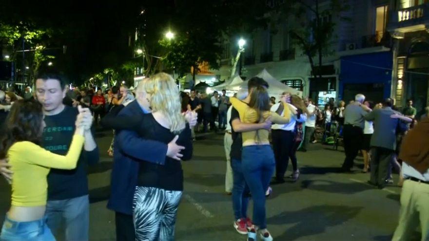 Argentina celebrates tango