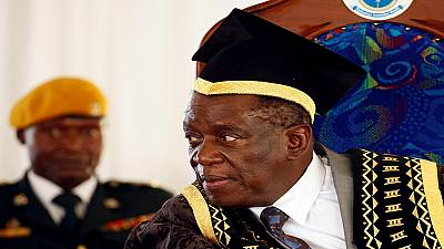 Zimbabwe's Mnangagwa drops education minister after public outcry