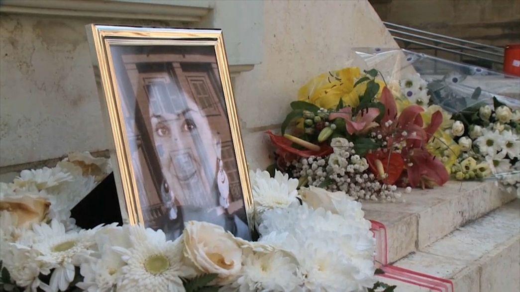 10 Festnahmen nach Mord an Journalistin