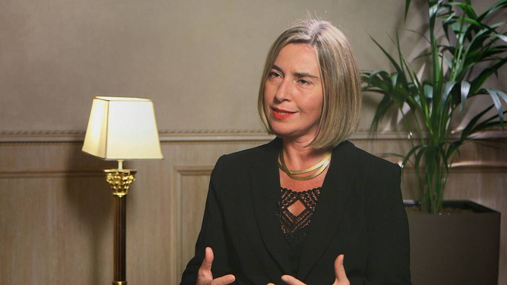 Federica Mogherini: 'Europe is already fighting slavery in Libya'