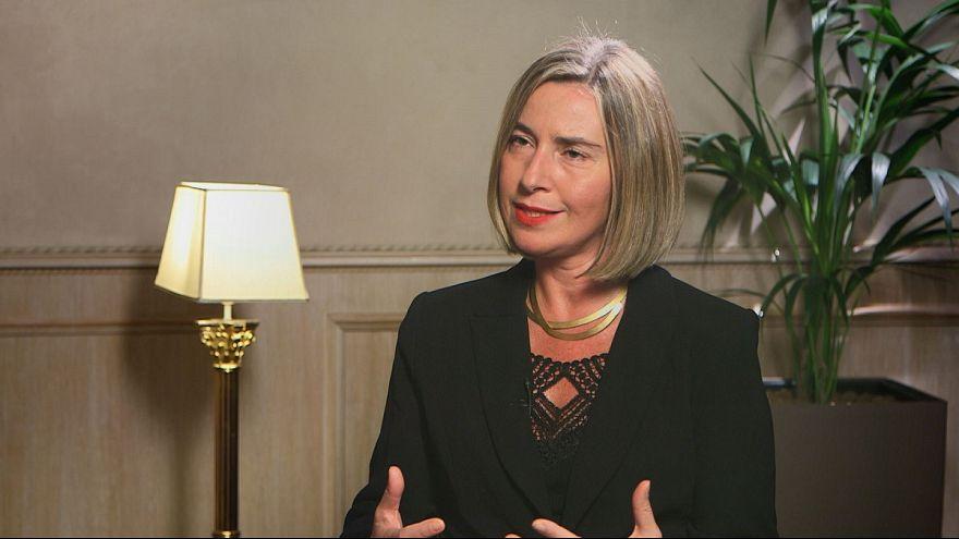 Entrevista exclusiva com a líder da diplomacia europeia, Federica Mogherini