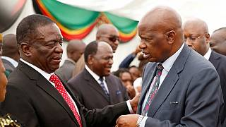 Zimbabwe's newly appointed ministers take oath of office