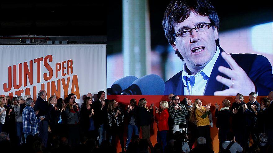 Partido de Puigdemont em terceiro nas sondagens