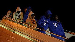 Guinée : plus de 800 migrants rapatriés de la Libye, en novembre