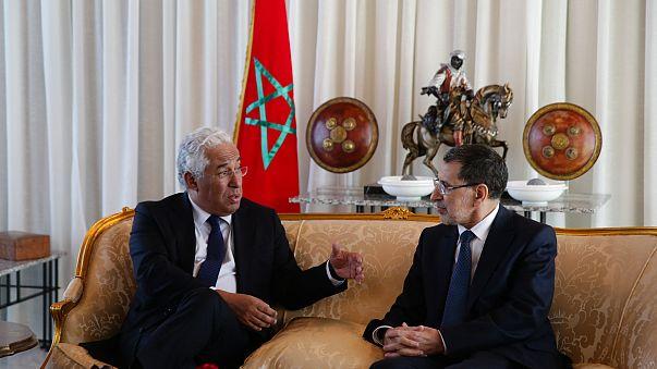 Cimeira luso-marroquina com António Costa em Rabat
