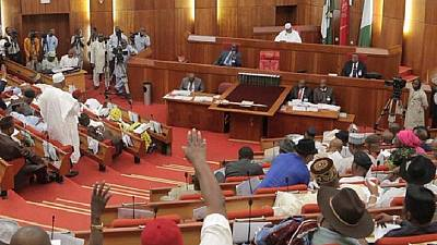 Nigeria's Senate passes 2018-2020 budget framework, raises oil price estimate
