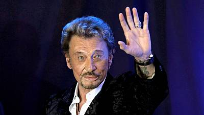 French singer Johnny Hallyday dies at 74 after battle with cancer