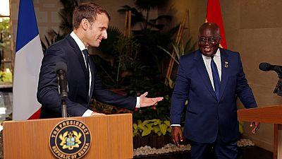 Macron au Ghana : le discours mémorable du président ghanéen sur l'autonomie africaine viral sur les réseaux sociaux