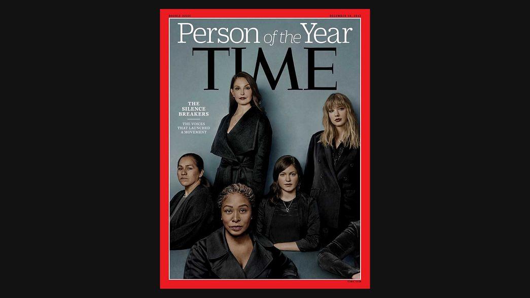 Time Dergisi 'Yılın Kişisi' olarak #metoo hareketini seçti