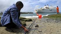 Congo says works on fibre optic backbone to Gabon is complete