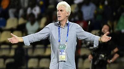 African football champions Cameroon fire coach Broos