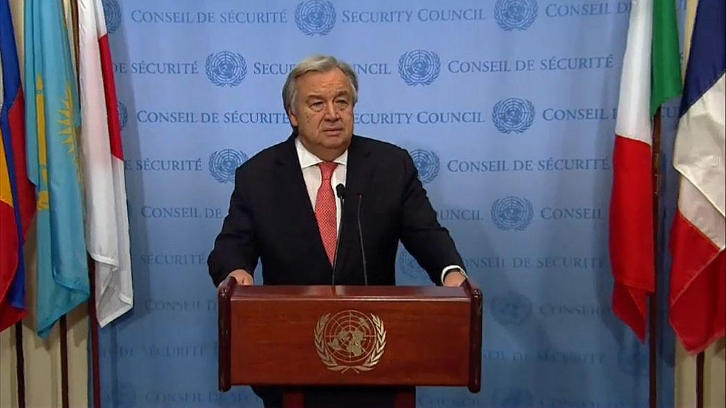"""Генсек ООН: """"Плана Б не существует"""""""
