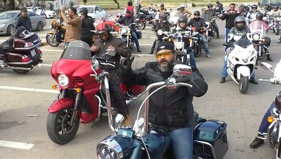 Biker groups flourish in post-Gaddafi Libya [no comment]