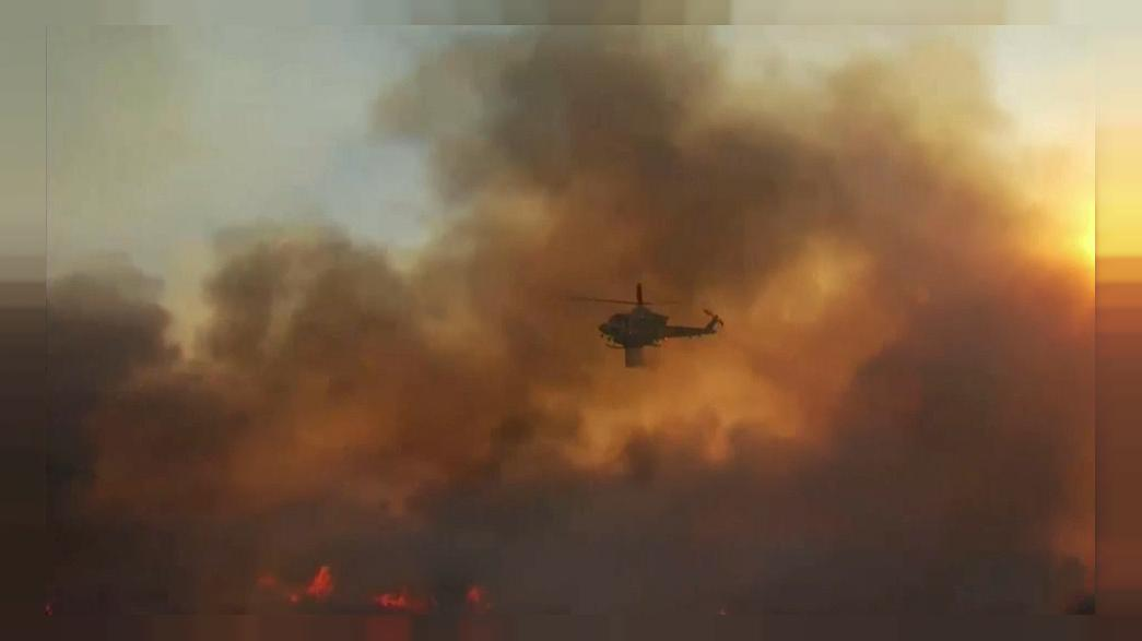 Dangerous wildfires rage across California