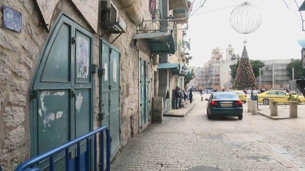 Huelga y disturbios en Cisjordania tras la decisión de Trump