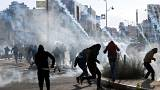 Violentos disturbios en Gaza y en Cisjordania