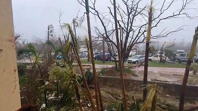 Scenes of devastation in the Bahamas after Hurricane Dorian made landfall on Sunday 1 September.