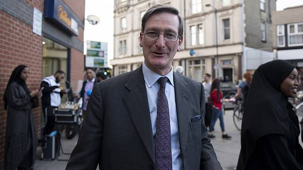 Image: Conservative MP Dominic Grieve arrives at the Finsbury Park Mosque i