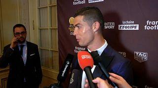 Роналду счастлив получить Золотой мяч
