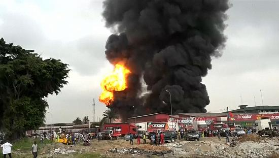Fire engulfs Abidjan industrial zone [no comment]