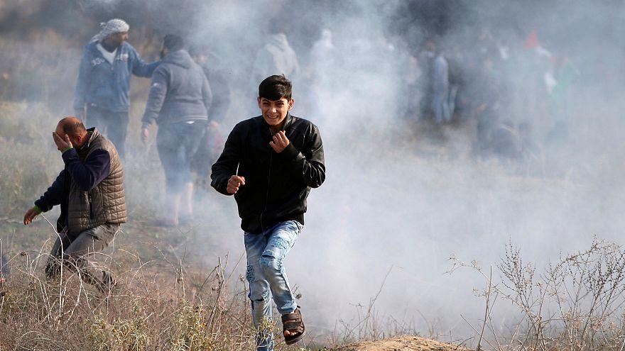 Folytatódik a palesztinok tömeges utcai tiltakozása